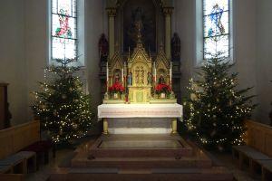 Permalink to:Christbäume in der Gisinger Kirche