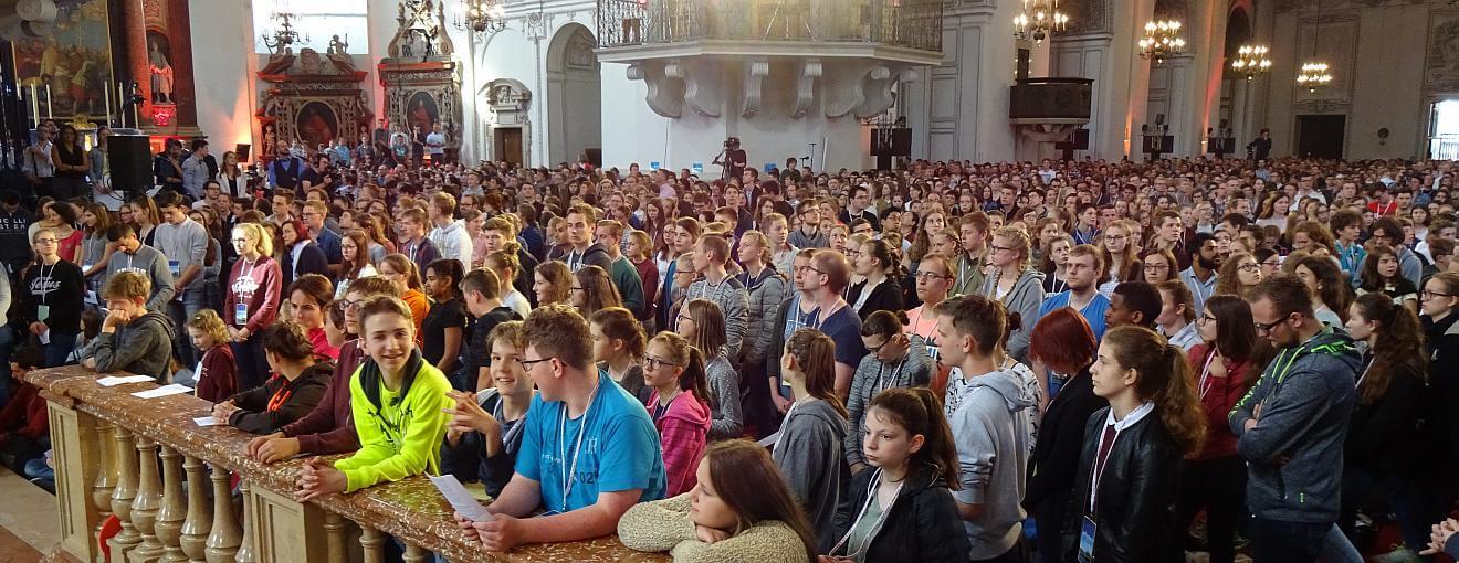 Komm mit zum Fest der Jugend nach Salzburg, 7.- 10. Juni 2019